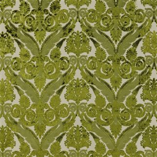 Stuart Damask - Peridot Cutting