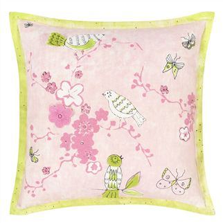 Apple Blossom Kids Throw Pillow