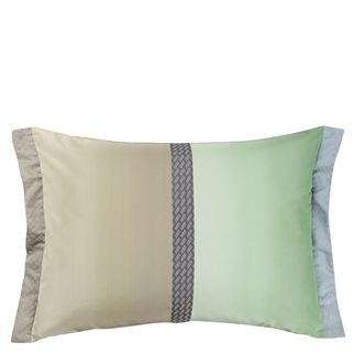 Okumi Jade Throw Pillow