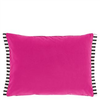 Varese Fuchsia Throw Pillow
