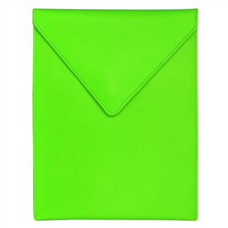 Fluoro Green Leather iPad Case