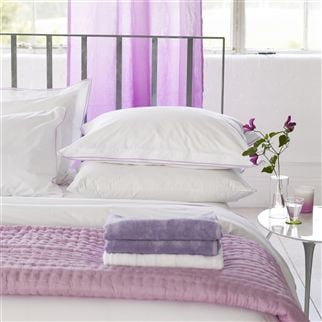 Coniston Lilac Towels | Designers Guild