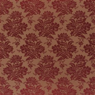 wroxton damask - crimson