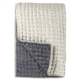 Chenevard Silver & Slate Quilts & Shams