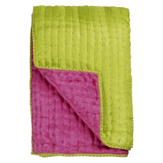 Chenevard Fuchsia & Lime Quilts & Shams