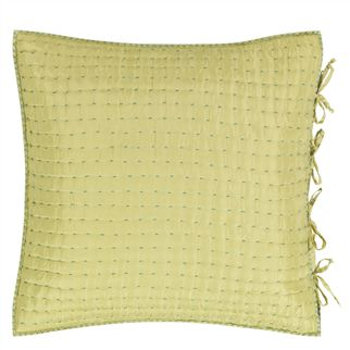 Chenevard Turquoise & Pistachio Square Pillowcase
