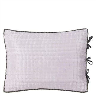 Chenevard Pale Rose & Slate Grey Quilts & Shams