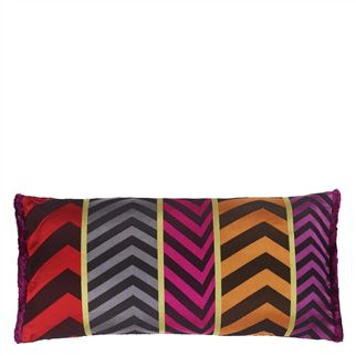 Indupala Fuchsia Cushion