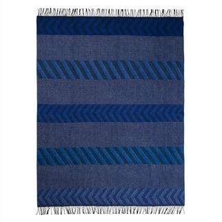 Indupala Indigo Throw