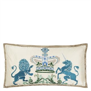Coat of Arms Ivory Cushion