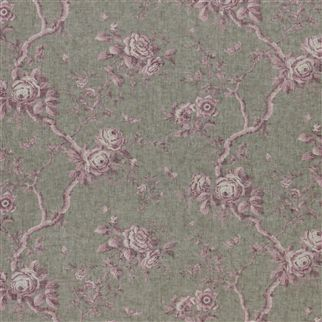 ashfield floral voile - vintage blush