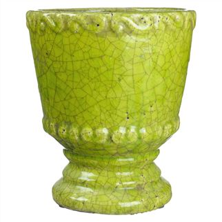 Large Lime Planter Pot