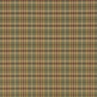 ennis plaid - olive