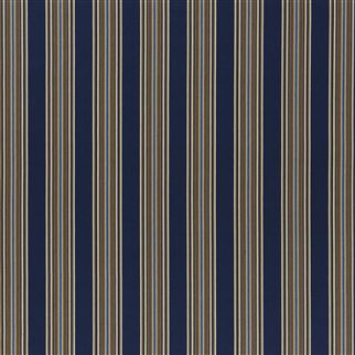 trailhead stripe - navy/camel
