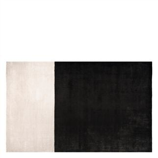 Hasan Black & White Rug