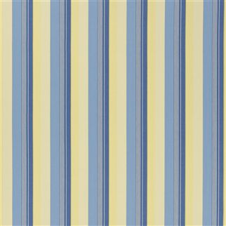 greenport stripe - blue/cream