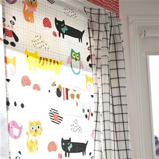 vernon - crocus fabric | Designers Guild Kids