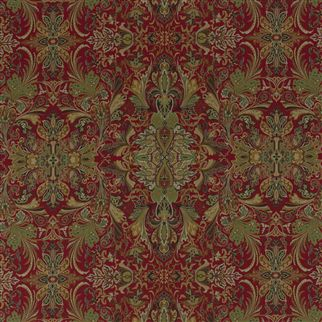 lakota paisley - canterbury red
