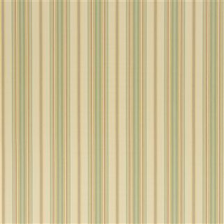 pondview ticking stripe - creamsicle