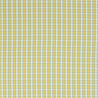 saybrook check - yellow