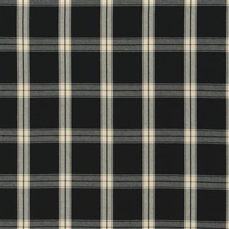 granville plaid - black