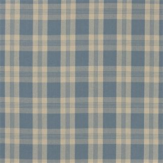 mill pond check - chambray/linen