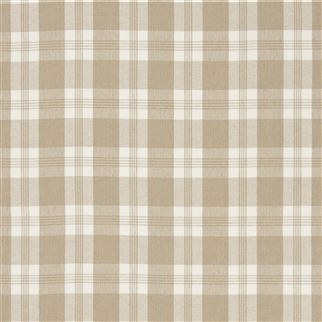 mill pond check - sand/white