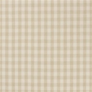 old forge gingham - cream/linen