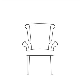 Stitch Alto Chair with Arms
