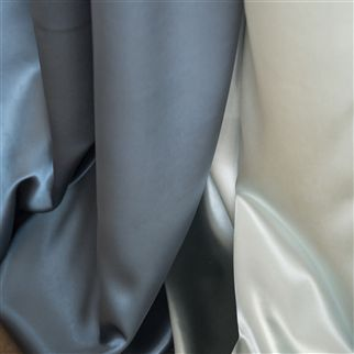 satinato - slate fabric | Designers Guild Essentials