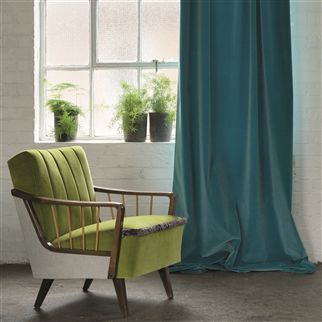 cassia - moss fabric | Designers Guild Essentials