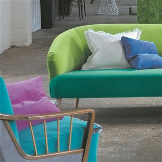 cassia - dewberry fabric | Designers Guild Essentials