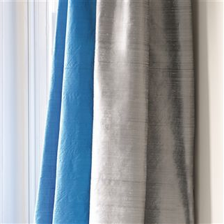 chinon - charcoal fabric | Designers Guild Essentials