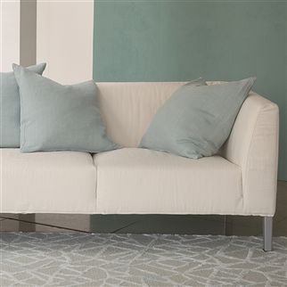 brera lino - pale jade fabric | Designers Guild Essentials