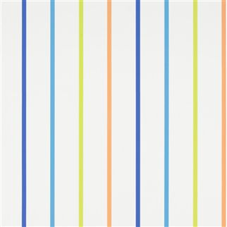 rainbow stripe - cobalt