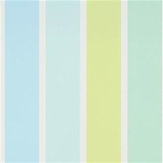 Fun Fair Stripe - Aqua Cutting