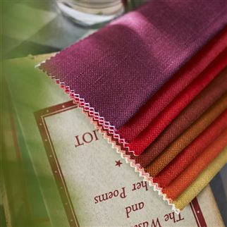 manzoni - cassis fabric | Designers Guild Essentials