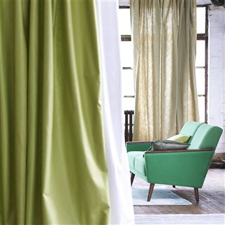 orba - pistachio fabric | Designers Guild Essentials