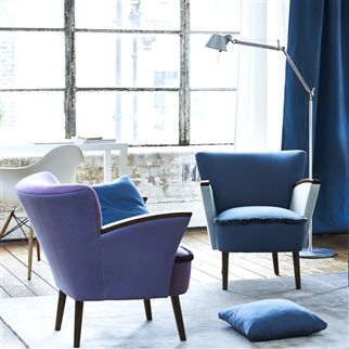 manzoni - viola fabric | Designers Guild Essentials