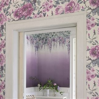 summer palace - grape wallpaper | Designers Guild