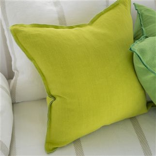 brera lino - lemongrass fabric | Designers Guild Essentials