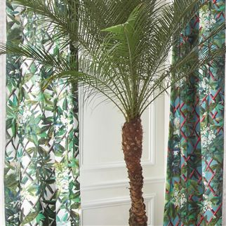 canopy - malachite fabric | Christian Lacroix
