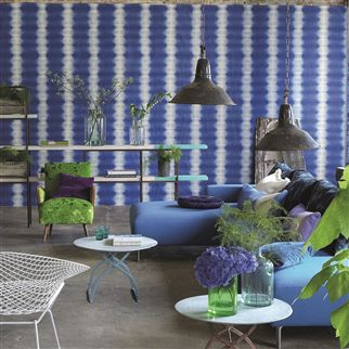 savine - jade wallpaper | Designers Guild