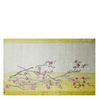 Willow Blossom Lemon Rug