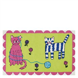 Cats Play Kids Rug