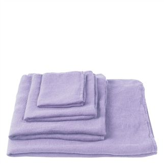 Orcia Lilac Towels