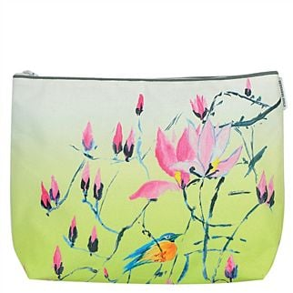Madame Butterfly Lime Toiletry Bag