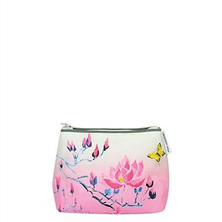 Madame Butterfly Rose Toiletry Bag