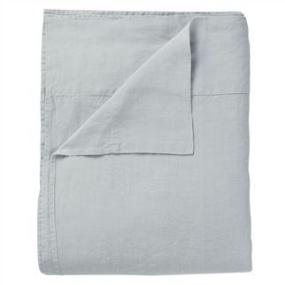 Biella Dusk & Duck Egg Double/King Flat Sheet