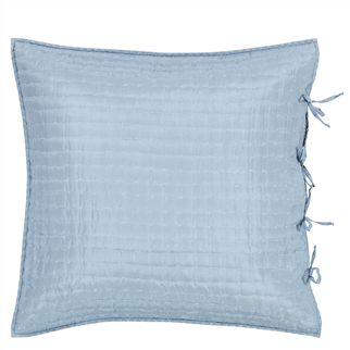 Chenevard Sky & Chalk Quilted Pillowcases